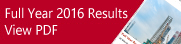 Full Year 2016  Results
